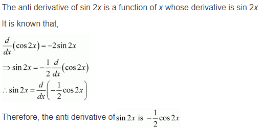 NCERT Solutions for Class 12 Maths Chapter 7 Integrals 2019