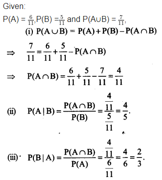 NCERT Solutions for Class 12 Maths Chapter 13 Probability Ex 13.1 Q 5