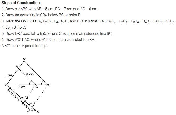 Ex 11.1 Class 10 NCERT Solutions PDF Q3
