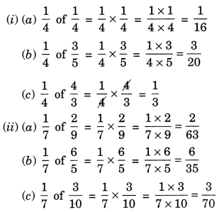 NCERT Solutions for Class 7 Maths Chapter 2 Fractions and Decimals Ex 2.3 2