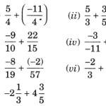 NCERT Solutions for Class 7 Maths Chapter 9 Rational Numbers Ex 9.2 1