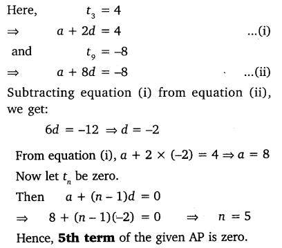Arithmetic Progression Class 10 NCERT Solutions Pdf Ex 5.2 Q9