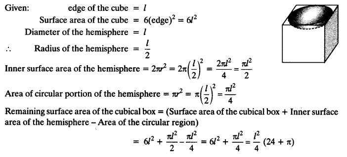Ch 13 Maths Class 10 Maths NCERT Solutions PDF Q5