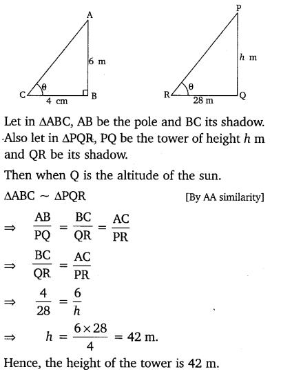 Ch 6 Maths Class 10 Ex 6.3 NCERT Solutions PDF Q15