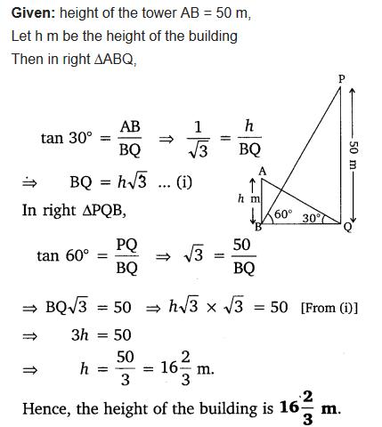 Class 10 Maths Chapter 9 NCERT Solutions Ex 9.1 pdf Q9