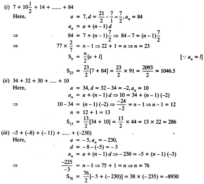 Ex 5.3 Class 10 Maths NCERT Solutions Arithmetic Progression Q2