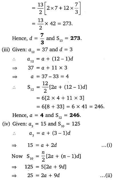 Ex 5.3 Class 10 Maths NCERT Solutions Arithmetic Progression Q3.1
