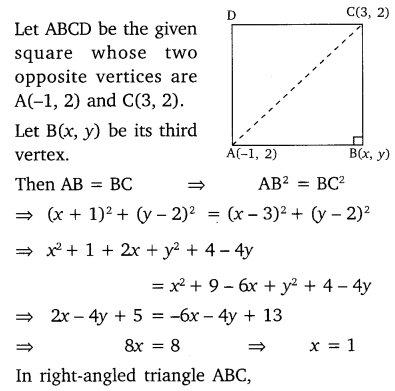 Ex 7.4 Class 10 Maths NCERT Solutions Ch 7 Coordinate Geometry PDF Q4
