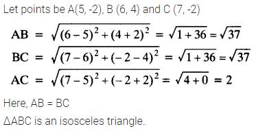 Ex 7.1 Class 10 Maths NCERT Solutions Coordinate Geometry PDF Download Q4