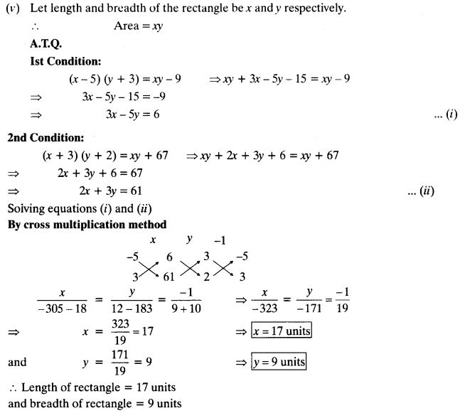 Exercise 3.5 Class 10 Maths NCERT Solutions Pair Of Linear Equations In Two Variables Q4.4