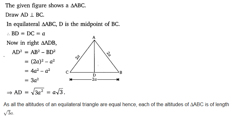 Triangles Class 10 Exercise 6.5