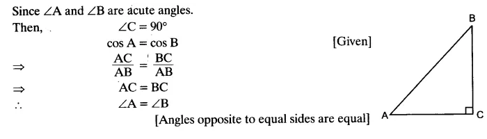 Exercise 8.1 Class 10 NCERT Solutions Chapter 8 Trigonometry Q6