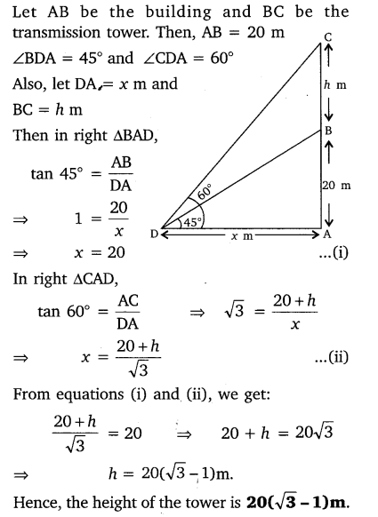 Exercise 9.1 Class 10 Maths NCERT Solutions pdf Q7