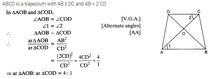 NCERT Solutions for Class 10 Maths Chapter 6 pdf Triangles Ex 6.4 Q2