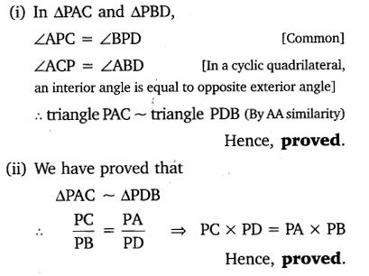 Triangles Class 10 Ex 6.6 NCERT Solutions PDF Q8