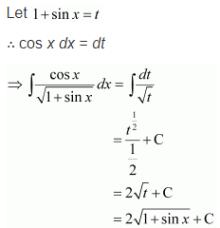 Integration Solutions class 12 Maths Chapter 7 Ex 7.2 Q 28