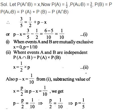 Maths Class 12 NCERT Solutions Chapter 13 Probability Ex 13.2 Q 7
