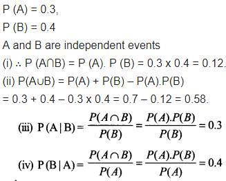 Maths Class 12 NCERT Solutions Chapter 13 Probability Ex 13.2 Q 8
