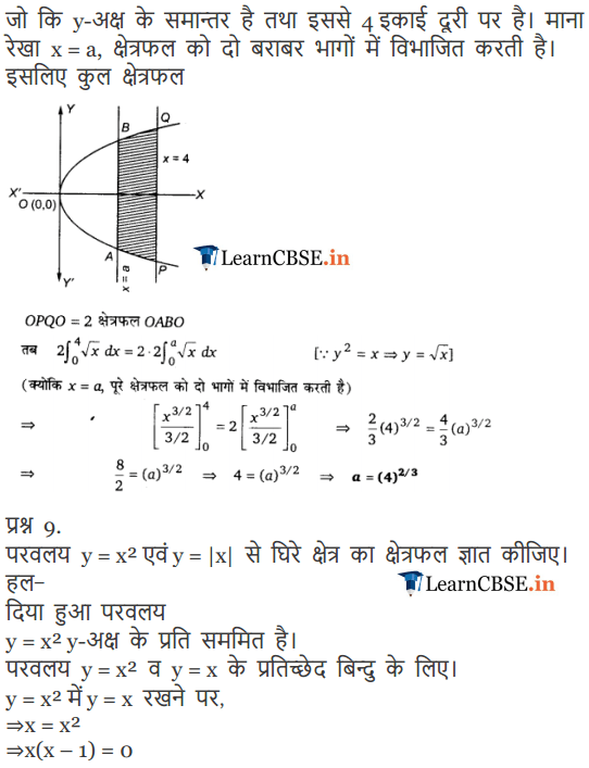 NCERT Solutions for class 12 Maths Chapter 8 Exercise 8.1 for final year +2