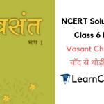 NCERT Solutions for Class 6 Hindi Vasant Chapter 4 चाँद से थोड़ी सी गप्पे