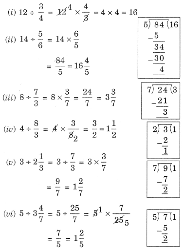 NCERT Solutions for Class 7 Maths Chapter 2 Fractions and Decimals Ex 2.4 2