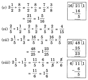 NCERT Solutions for Class 7 Maths Chapter 2 Fractions and Decimals Ex 2.4 9