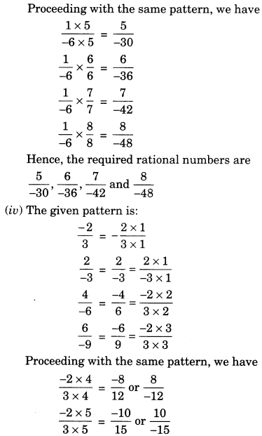 NCERT Solutions for Class 7 Maths Chapter 9 Rational Numbers 11