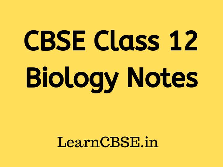 Grade 11 Biology Notes Pdf