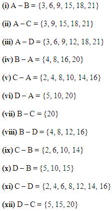 NCERT Solutions for Class 11 Maths Chapter 1 Ex 1.4 Q 9