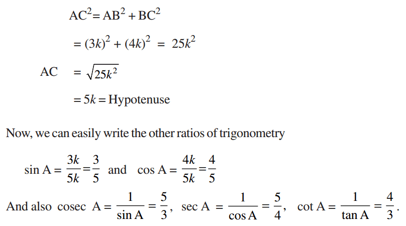 Trig Ratio Example