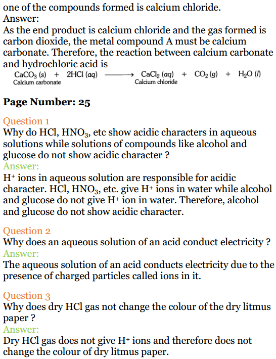 acids bases and salts class 10 ncert solutions