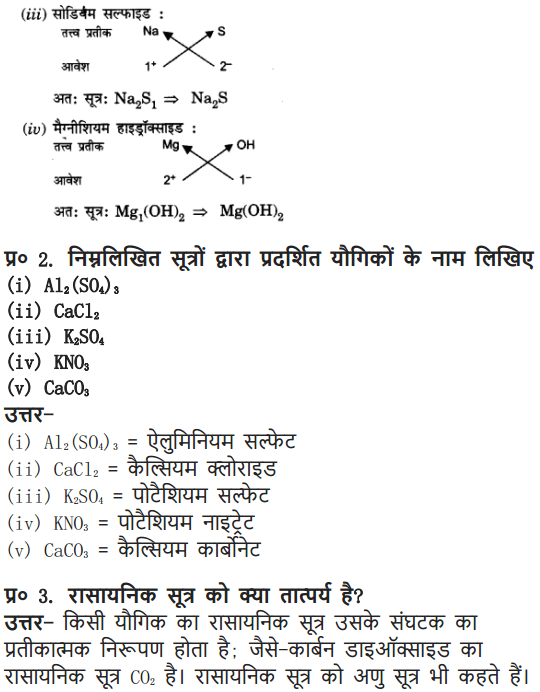 NCERT Solutions For Class 9 Science Chapter 3 Atoms and