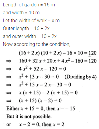 ML Aggarwal Class 10 Solutions for ICSE Maths Chapter 5 Quadratic Equations in One Variable Ex 5.5