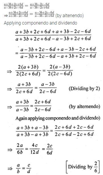ML Aggarwal Class 10 Solutions for ICSE Maths Chapter 7 Ratio and Proportion Ex 7.3