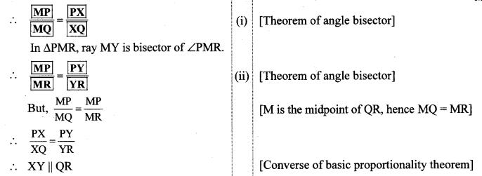Maharashtra Board Class 10 Maths Solutions Chapter 1 Similarity Problem Set 1 18