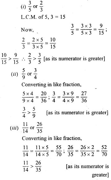 Selina Concise Mathematics Class 6 ICSE Solutions Chapter 14 Fractions Ex 14B 11