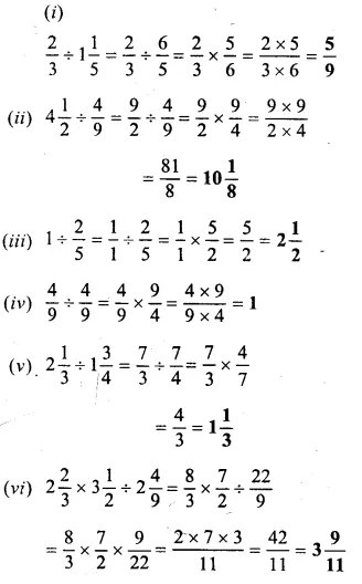 Selina Concise Mathematics Class 6 ICSE Solutions Chapter 14 Fractions Ex 14D 32