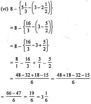 Selina Concise Mathematics Class 6 ICSE Solutions Chapter 14 Fractions Revision Ex 59