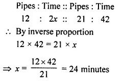 Selina Concise Mathematics Class 8 ICSE Solutions Chapter 10 Direct and Inverse Variations Ex 10B 15