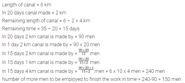 Selina Concise Mathematics Class 8 ICSE Solutions Chapter 10 Direct and Inverse Variations Ex 10D 38
