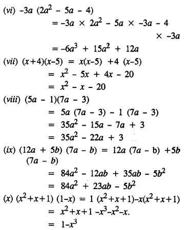 Selina Concise Mathematics Class 8 ICSE Solutions Chapter 11 Algebraic Expressions (Including Operations on Algebraic Expressions) Ex 11C 26
