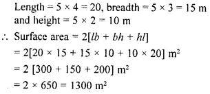 Selina Concise Mathematics Class 8 ICSE Solutions Chapter 21 Surface Area, Volume and Capacity (Cuboid, Cube and Cylinder) Ex 21C 33