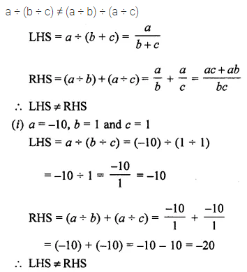 ML Aggarwal Class 7 Solutions for ICSE Maths Chapter 1 Integers Ex 1.4 4