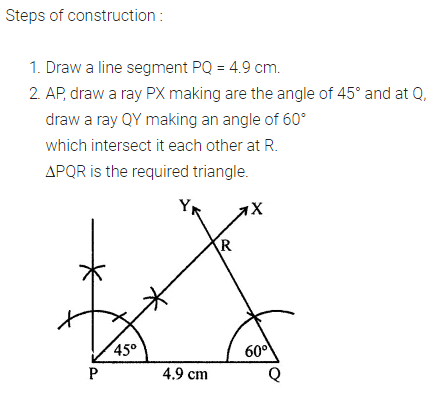 ML Aggarwal Class 7 Solutions for ICSE Maths Chapter 13 Practical Geometry Ex 13 13