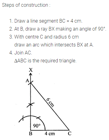 ML Aggarwal Class 7 Solutions for ICSE Maths Chapter 13 Practical Geometry Ex 13 15
