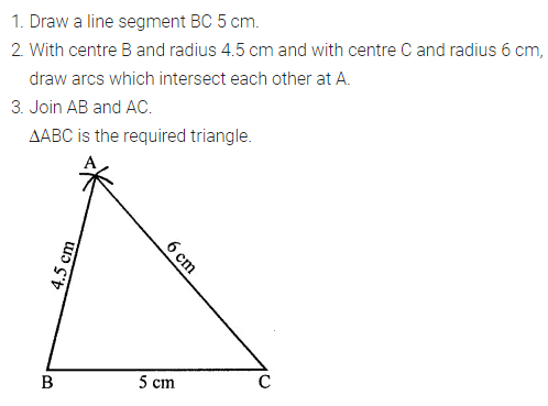 ML Aggarwal Class 7 Solutions for ICSE Maths Chapter 13 Practical Geometry Ex 13 5