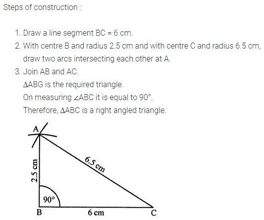 ML Aggarwal Class 7 Solutions for ICSE Maths Chapter 13 Practical Geometry Ex 13 8