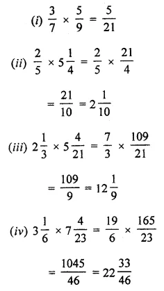 ML Aggarwal Class 7 Solutions for ICSE Maths Chapter 2 Fractions and Decimals Ex 2.3 6