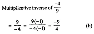 ML Aggarwal Class 7 Solutions for ICSE Maths Chapter 3 Rational Numbers Objective Type Questions 6