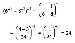 ML Aggarwal Class 7 Solutions for ICSE Maths Chapter 4 Exponents and Powers Objective Type Questions 18
